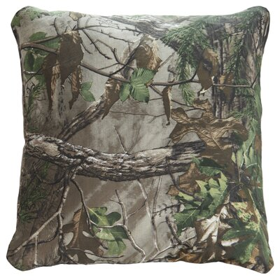 Xtra Green Cotton Throw Pillow