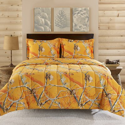 3 Piece Comforter Set Size: King
