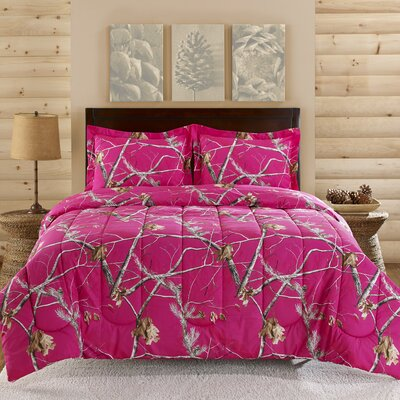3 Piece Comforter Set Size: Queen