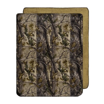 Realtree Realtree All Purpose Micro Mink Throw