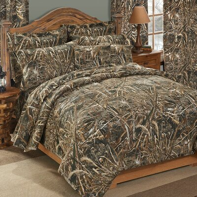Realtree Max-5 180 Thread Count Sheet Set Size: Twin
