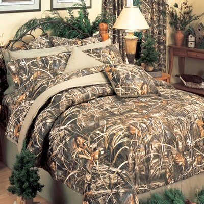 Realtree Max 4 Piece Sheet Set Size: Queen