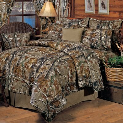 Realtree All Purpose 4 Piece Comforter Set
