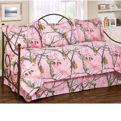 Realtree All Purpose Daybed Ensemble 5 Piece Comforter Set