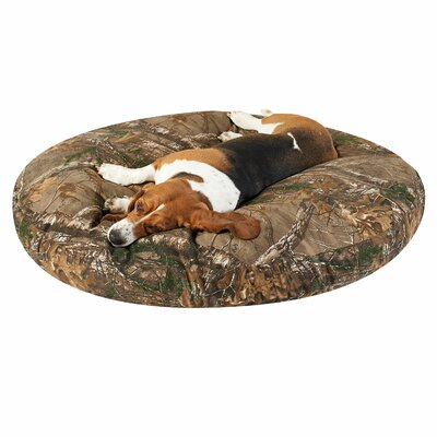 Preston Round Dog Bed Size: 40 L x 40 W