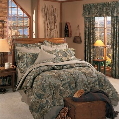 Advantage 4 Piece Comforter Set Size: Queen