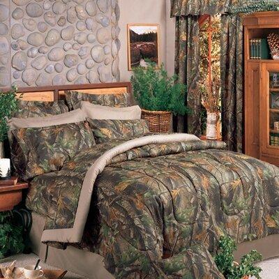 Hardwoods 4 Piece Comforter Set Size: King