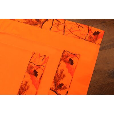 Realtree AP Blaze 4 Piece Sheet Set Size: Queen