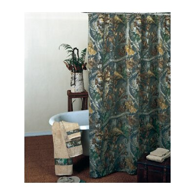Realtree Timber Shower Curtain