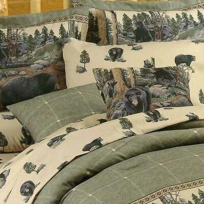 The Bears Cotton Throw Pillow