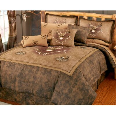 Whitetail Ridge Comforter Set Size: King