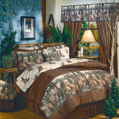 Whitetail Dreams Comforter Set Size: King