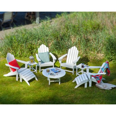 Long Island Conversation Adirondack 9 Piece Seating Group