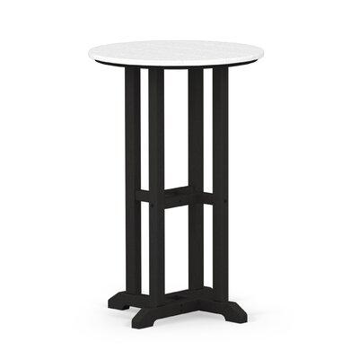 Contempo Dining Table Finish: Black / White