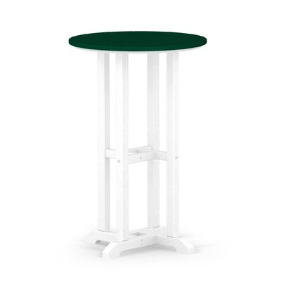 Contempo Dining Table Finish: White / Green