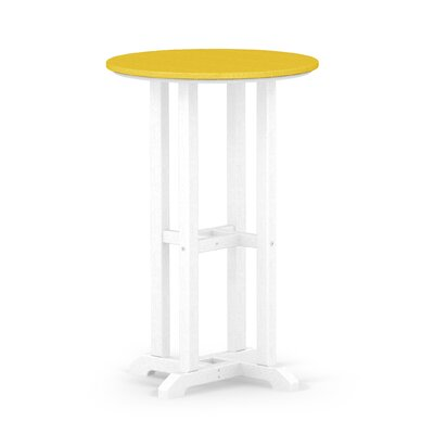 Contempo Dining Table Finish: White / Lemon