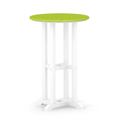 Contempo Dining Table Finish: White / Lime