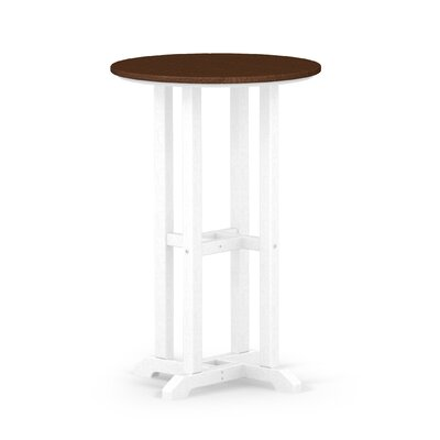 Contempo Dining Table Finish: White / Mahogany