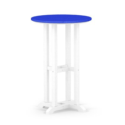 Contempo Dining Table Finish: White / Pacific Blue