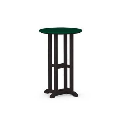 Contempo Dining Table Finish: Black / Green