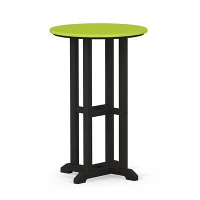 Contempo Dining Table Finish: Black / Lime