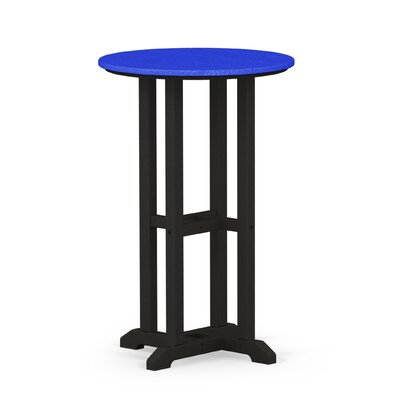 Contempo Dining Table Finish: Black / Pacific Blue