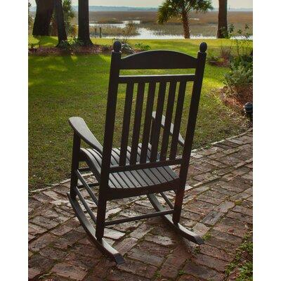 Jefferson Rocking Chair Finish: Black