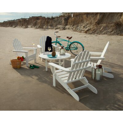 Adirondack 5 Piece Set Finish: White