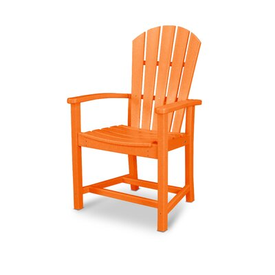 Palm Coast 7 Piece Dining Set Finish: Tangerine and white