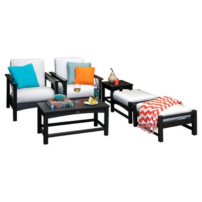 Club 6 Piece Deep Seating Group with Cushions