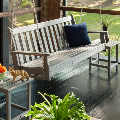 Vineyard Porch Swing Finish: Slate Grey