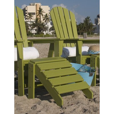 South Beach Ottoman Finish: Lime