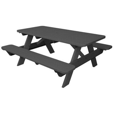 Park Picnic Table Finish: Slate Grey