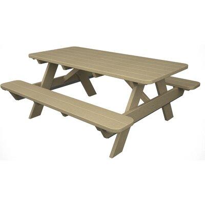 Park Picnic Table Finish: Sand
