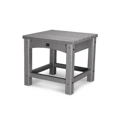 Club Side Table Finish: Gray