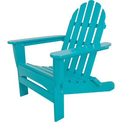 ... All Weather Polywood Classic Folding Adirondack Chair. POLYWOOD Classic  Folding Adirondack