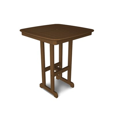 Nautical Bar Table Finish: Dark Teak