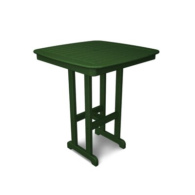 Nautical Bar Table Finish: Hunter Green