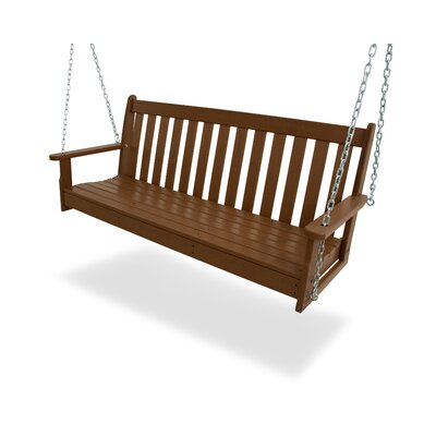 Vineyard Porch Swing Finish: Teak