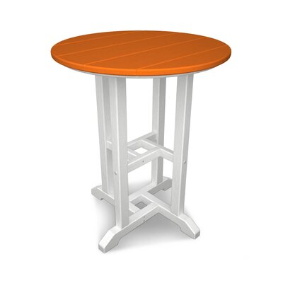 Contempo Dining Table Finish: White / Tangerine