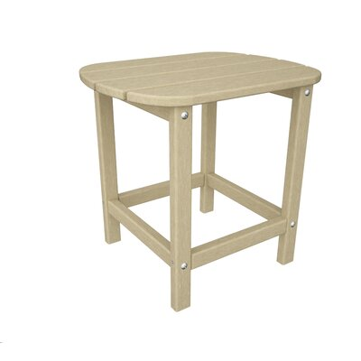 South Beach Side Table Finish: Sand, Table Size: 18