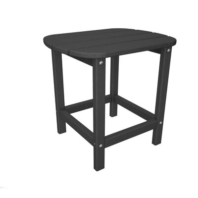 South Beach Side Table Table Size: 18, Finish: Slate Grey