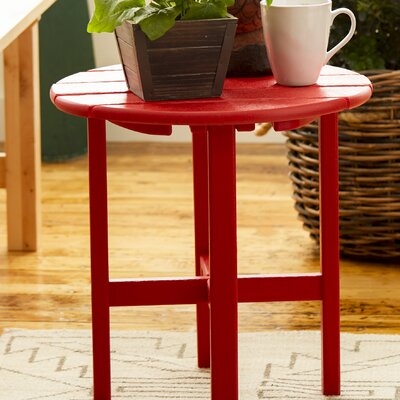 Side Table Finish: Sunset Red