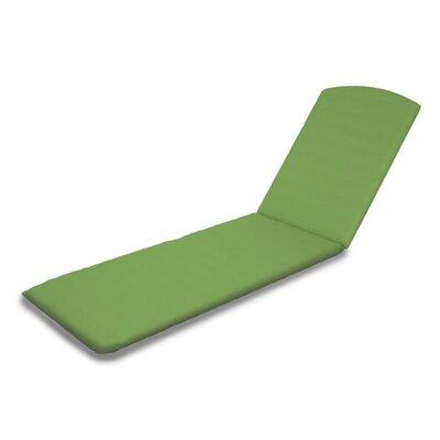 Outdoor Sunbrella Chaise Lounge Cushion Fabric: Ginkgo