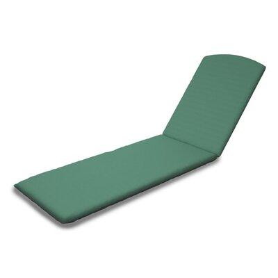 Outdoor Sunbrella Chaise Lounge Cushion Fabric: Spa