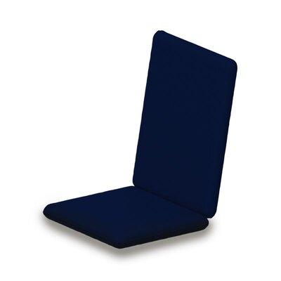 Outdoor Sunbrella Adirondack Chair Cushion Fabric: Navy