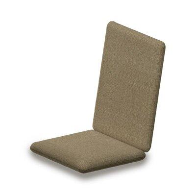 Outdoor Sunbrella Adirondack Chair Cushion Fabric: Sesame