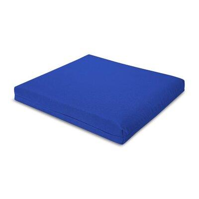 Outdoor Sunbrella Barstool Cushion Fabric: Pacific Blue