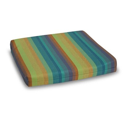 Outdoor Sunbrella Adirondack Chair Cushion Fabric: Astoria Lagoon