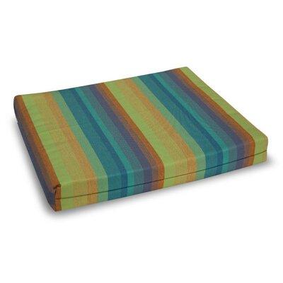Outdoor Sunbrella Bench Cushion Fabric: Astoria Lagoon